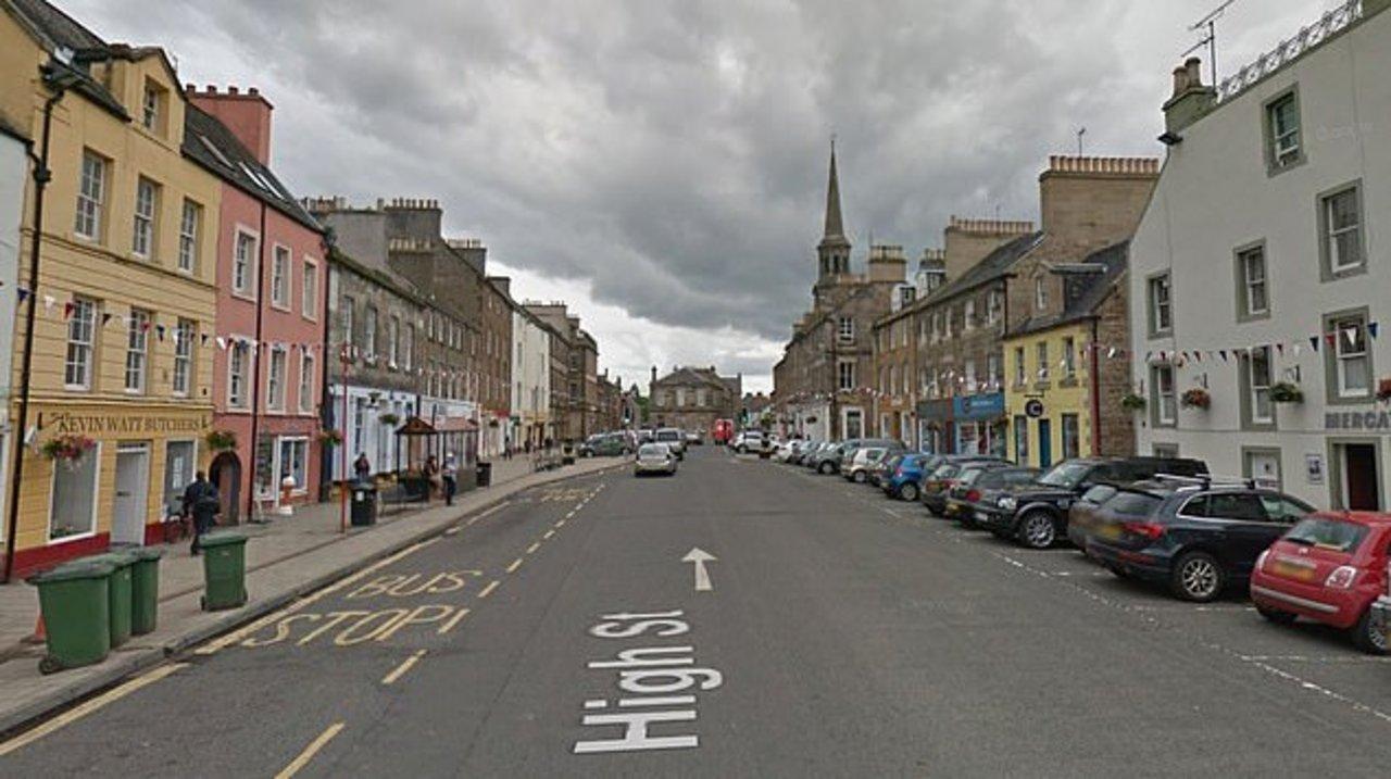 El incidente sucedió en la calle Haddington High, en East Lothian, Escocia
