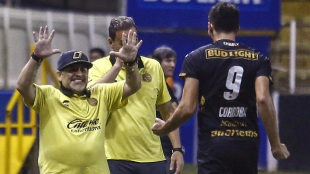 El equipo de Diego consiguió una victoria clave para alcanzar la máxima categoría del fútbol mexicano