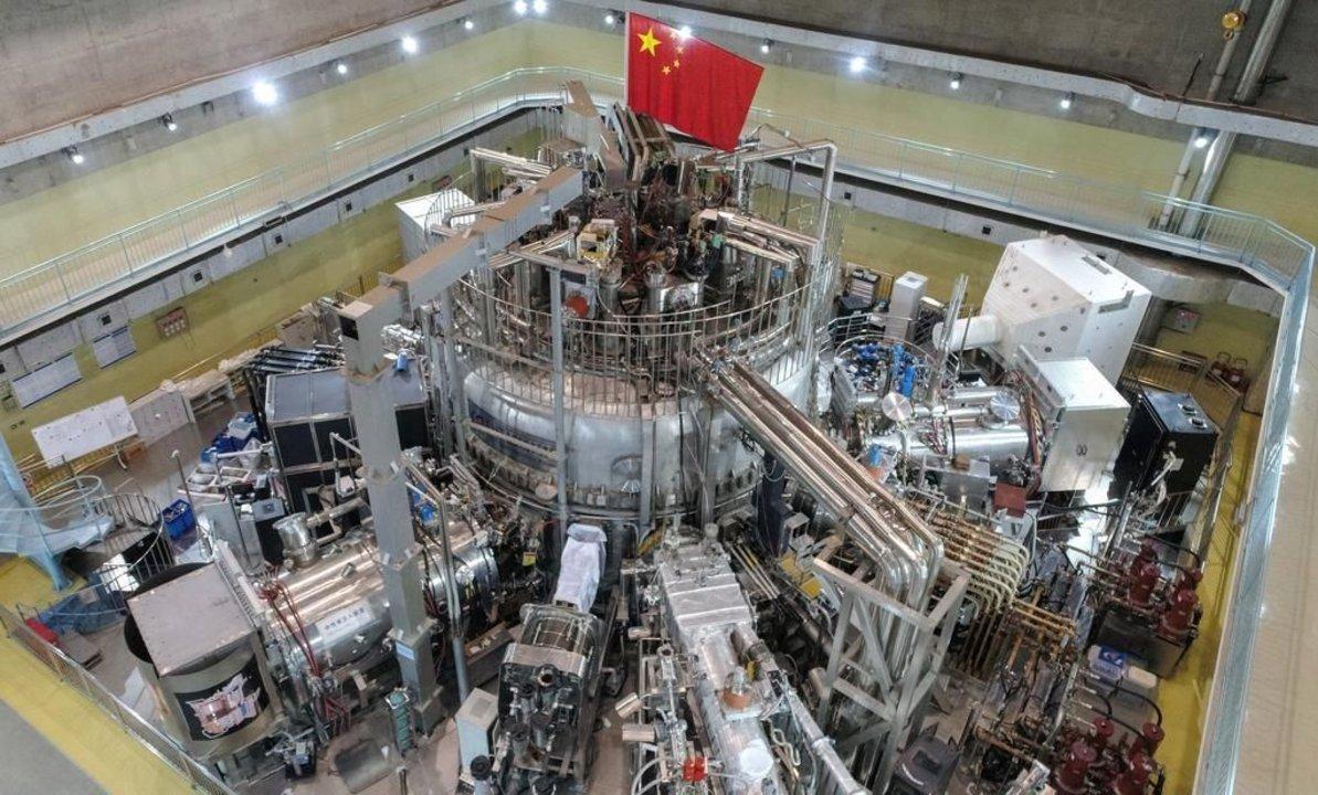El reactor ubicado en China que alcanzó una temperatura récord