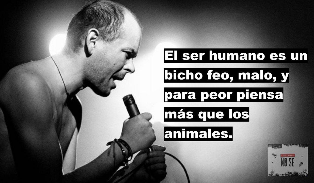 FRASE DE LUCA SOBRE EL SER HUMANO