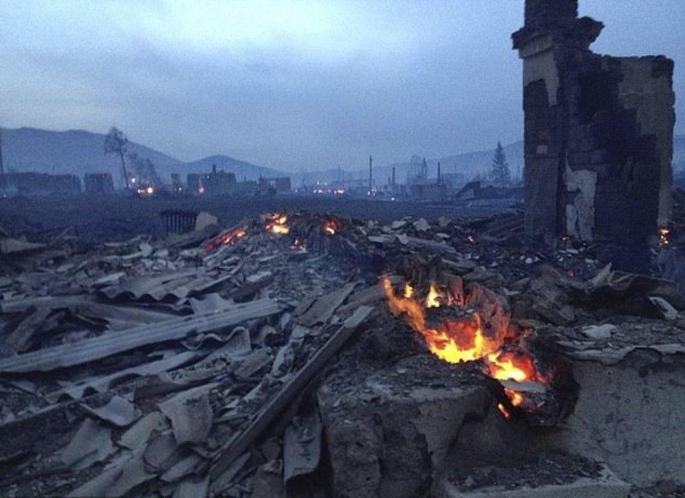El incendio que destruyó 1.500 hogares y dejó 30 muertos