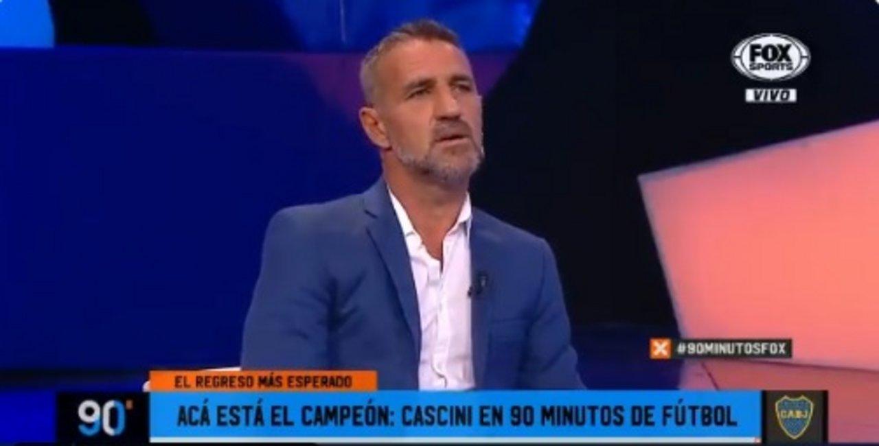 90 Minutos De Futbol En Vivo Por Internet qué dijo? tras el título de boca, cascini reapareció en '90